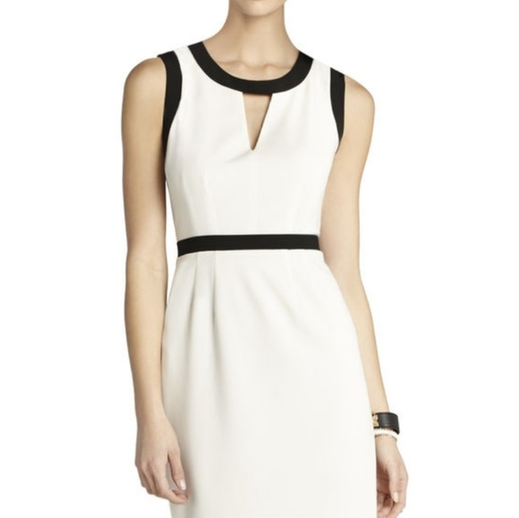 BCBGMaxAzria Dresses & Skirts - Bcbg maxazria Mollie cutout sheath dress